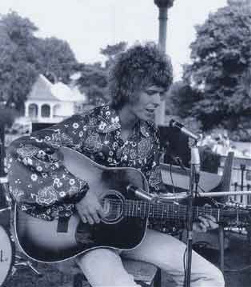 David Bowies on Bandstand at Beckenham Free Festival